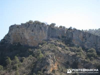 Alto Tajo - Hundido de Armallones, mochilas trekking; amigos madrid